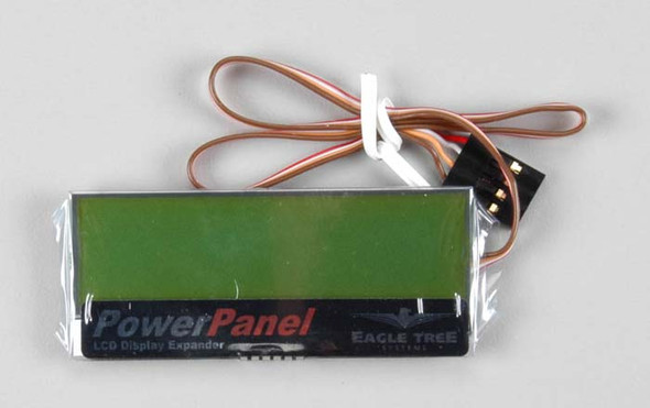 Eagle Tree Systems ETRP9010 Power Panel LCD Display Expander