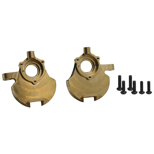 Hot Racing EVE21HM EVE21HM Brass Heavy Metal Front Knuckle Red Cat Gen 8