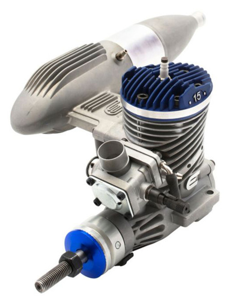 Evolution 15GX 15cc (.91 cu. in.) Gas Engine with Pumped Carb (Airplane)