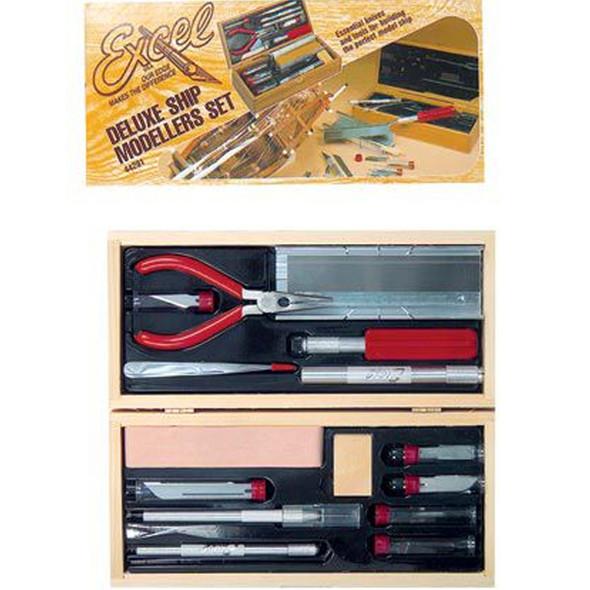 Excel Blade EXL44291 Deluxe Modelers Tool Set