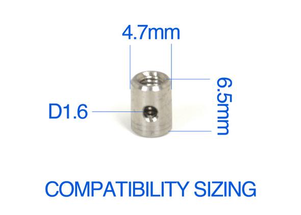 Exotek 1792 CVA Barrels Ultra Light Titanium (2) : TLR 22 Series / Associated B6 / B64