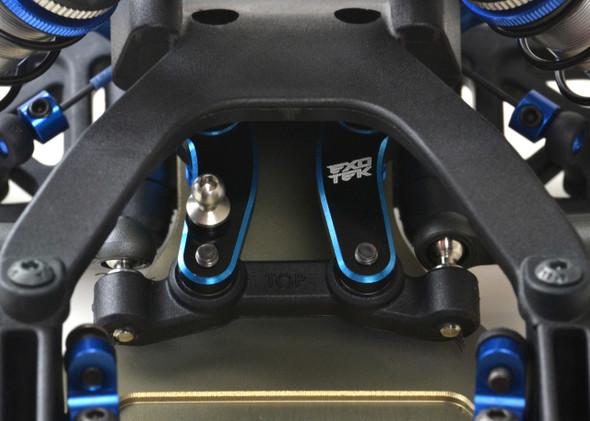 Exotek 1848  7075 Steering Cranks, 2 Color, 1 Pair : B6.1 / T6.1 / SC6.1