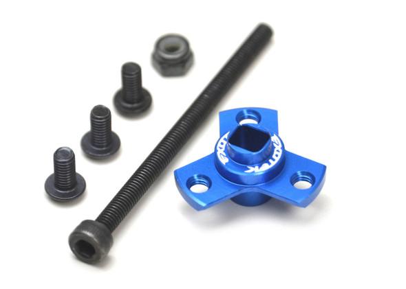 Exotek 1851 DIRECT SPUR GEAR MOUNT for stock top shaft: B6.1 / T6.1 / SC6.1