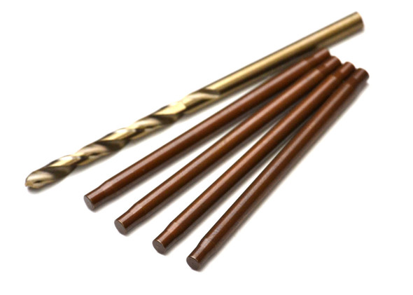 Exotek 1880 Heavy Duty 3.4mm Hardened Steel Inner Hinge Pin Set : EB410