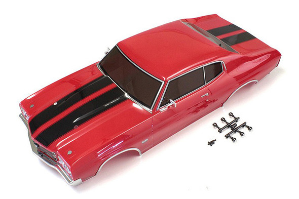 Kyosho FAB405 Completed Body Set Chevelle Cranberry Red