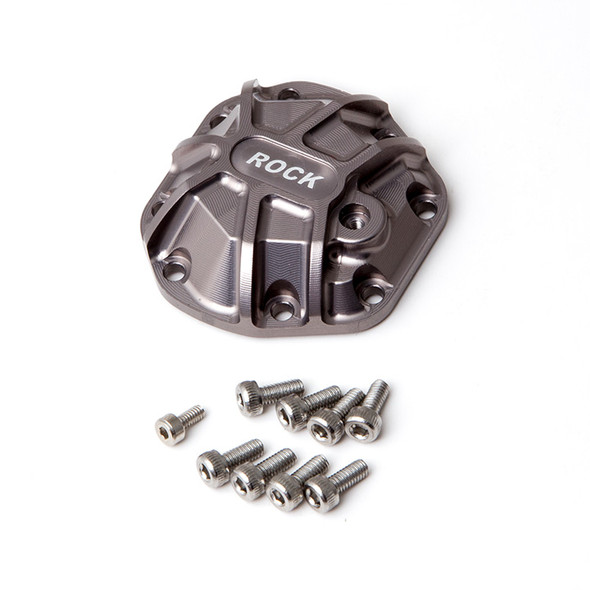 Gmade GM30013 R1 Axle 3D Machined Differential Cover (Titanium Gray) : R1 Buggy