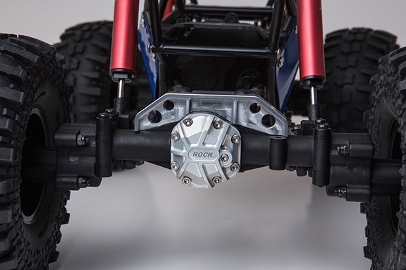 Gmade GM30034 Rear Axle Truss Upper Link Mount Silver for R1 Rock Buggy