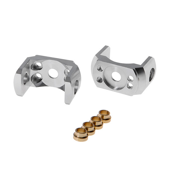 Gmade GM52120S Aluminum C-Hub Carrier Silver (2) for Gmade GS01 Axle