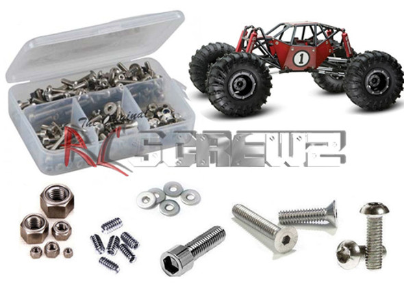 RC Screwz Stainless Steel Screw Kit G-Made R1 Crawler GMA001