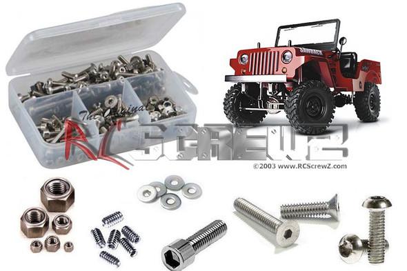 RC Screwz GMA002 GMade Sawback Rock Crawler Stainless Screw Kit