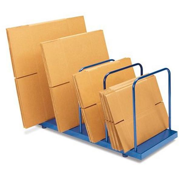 "ULINE H-1073 Steel Carton Stand - 42 x 18 x 23"""