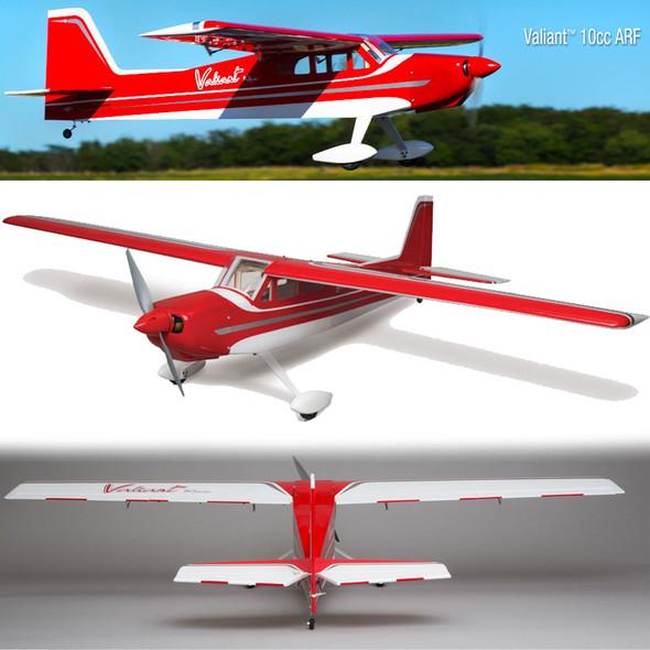 "Hangar 9 HAN5080 Valiant 10cc ARF, 69"" Airplane"