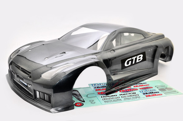 HoBao 90074G 1/8 Hyper GTB On-Road Painted Body Long Gray