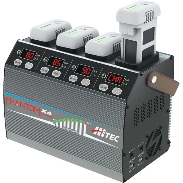Hitec 44525 Phantom X4 Smart Battery Charger for Phantom 3 / Phantom 4