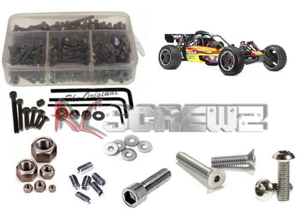 RC Screwz Stainless Steel Screw Kit Hpi Baja 5B 1/5 HPI028