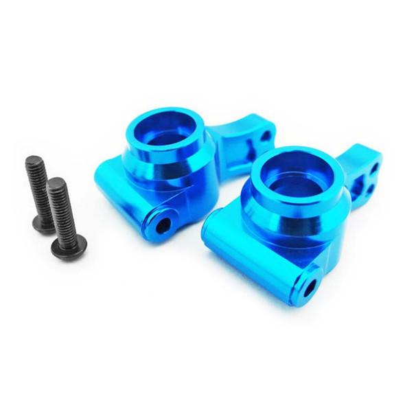 Hot Racing ECT2206 Blue Aluminum Rear Knuckles Hubs 1/10 2WD ECX Vehicles