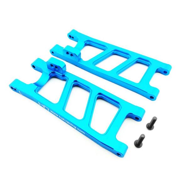 Hot Racing ECT5606 Blue Aluminum Rear Sb Suspension Arm Set ECX 2wd