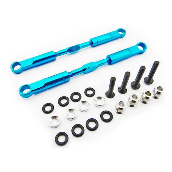 Hot Racing ECT5706 Blue Aluminum 89mm Rear Turnbuckles 1/10 2WD ECX Vehicles
