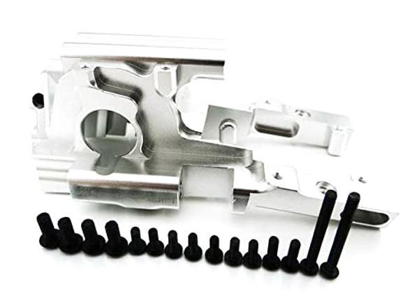 Hot Racing Secure Lock Front Bulkhead Silver 1/10 Revo / E-Revo