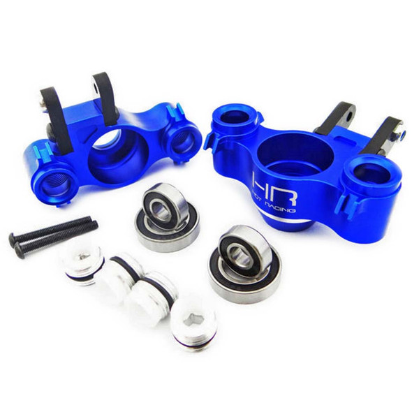 Hot Racing RVO21XG06 Blue Aluminum Graphite XD Knuckle w/Bearing Revo / E-Revo