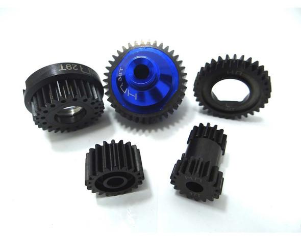 Hot Racing SJT1000XF06 #45 Steel Gear Set : Jato 2.5 / 3.3
