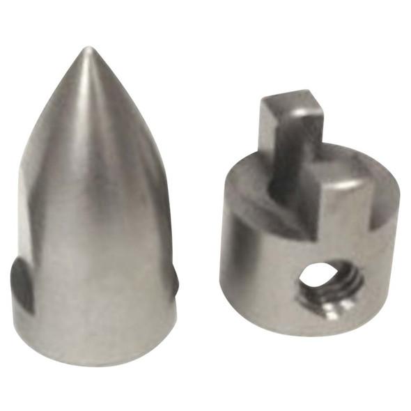 Hot Racing SPN05PN Conical Bullet M4 Prop Nut / Drive Dog Spartan
