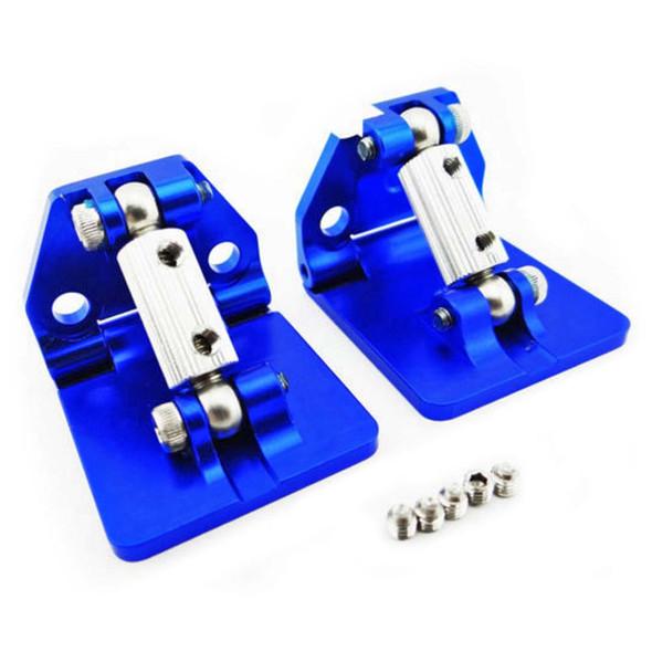 Hot Racing SPN311AR06 Aluminum Adjustable Trim Tab Set Spartan