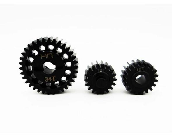 Hot Racing YEX1000T Steel Center Gear Set Yeti XL