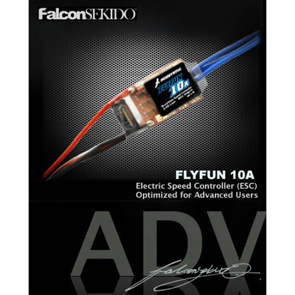 Hobbywing 80020580 FLYFUN 10A Brushless Speed Controller 2-4S Lipo BEC 5V@1A