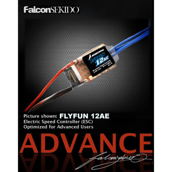 Hobbywing 80020591 FLYFUN 12AE Brushless Speed Controller 2-4S Lipo BEC 5V@2A
