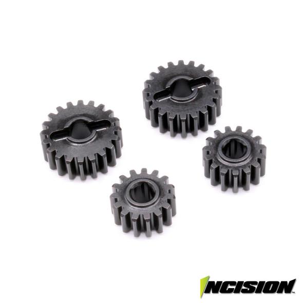 Incision IRC00287 Portal Overdrive Gear Set 15/20 : SCX10-III & Axial Capra Axles