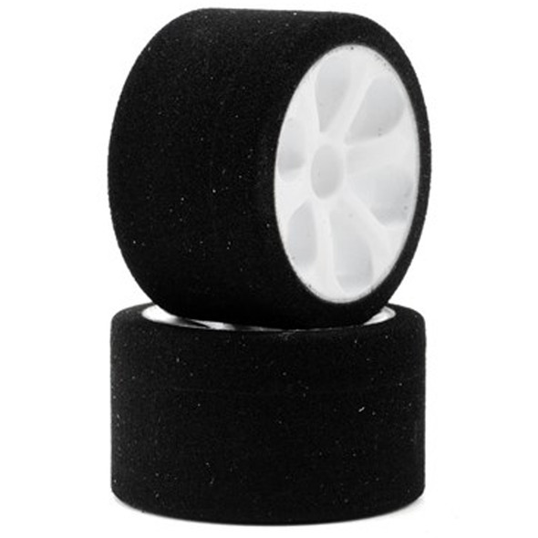 """Jaco """"Prism"""" 1/12 Mounted Foam Front Tires Double Pink (2)"""