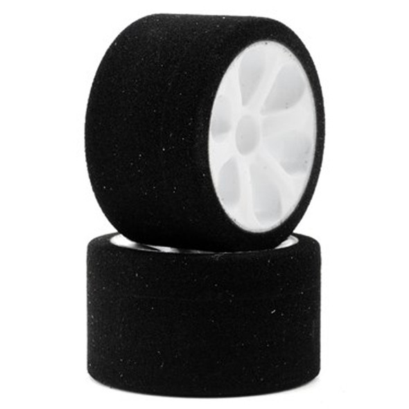 """Jaco """"Prism"""" 1/12 Mounted Foam Front Tires Purple (2)"""