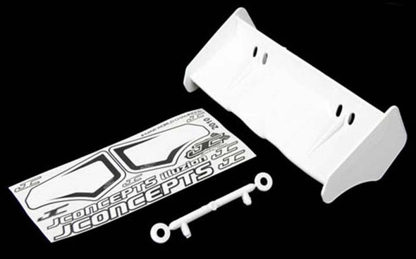 JConcepts 0113 Illuzion 1/8 Buggy / Truggy Wing White