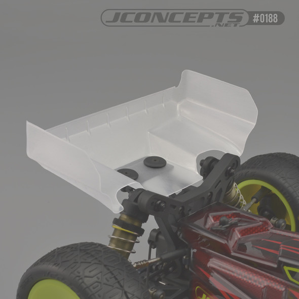 J Concepts 0188 Aero S-Type Clear Rear Wing : Tekno EB410 / ET410