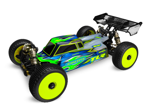 JConcepts 0245 Silencer TLR 8ight-E 3.0 Clear Body