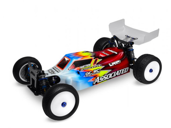 """JConcepts Finnisher B44.2 Buggy X-Flow Clear Body w/6.5"""" Wing 0266"""