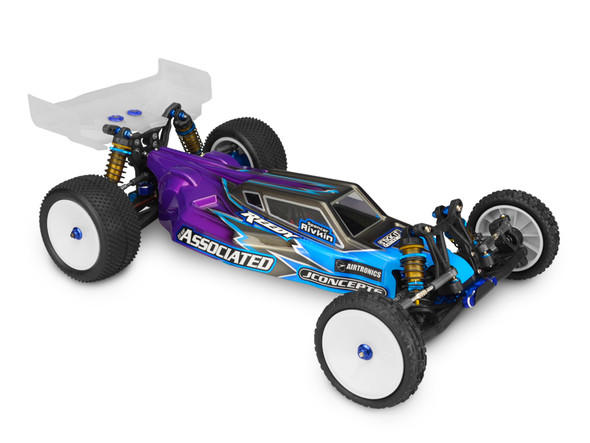 JConcepts 0294L Clear Worlds Body w/6.5 Finnisher Rear Wing Light Weight : B5M