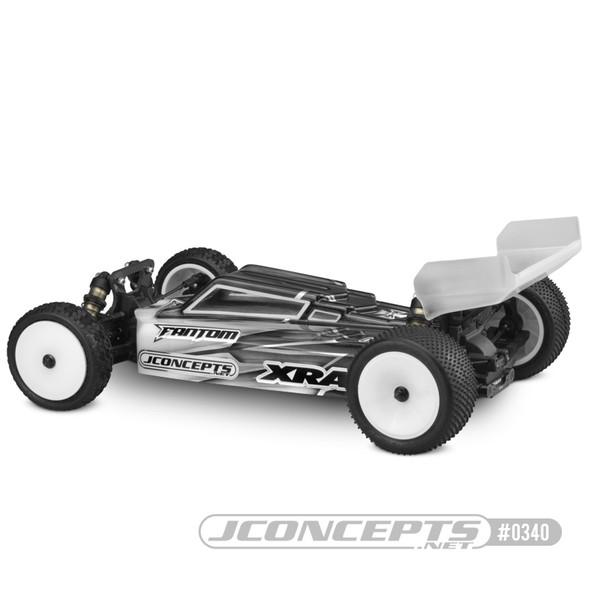 J Concepts 0340 F2 Clear Body w/ Two Aero Rear Wings : XRAY XB4