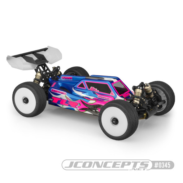 J Concepts 0345 S2 Clear Body : Losi TLR 8ight 4.0 Buggy