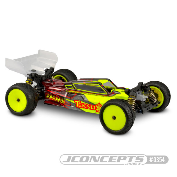 J Concepts 0354L F2 Clear Body Light Weight w/Aero S-Type Clear Wing : Tekno EB410