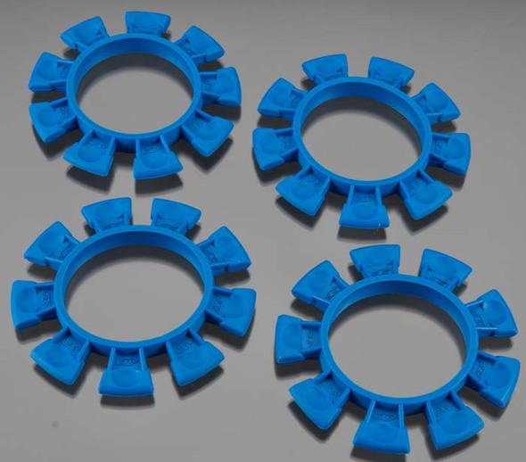 JConcepts 2212-1 Satellite Tire Gluing Rubber Bands Blue (4)