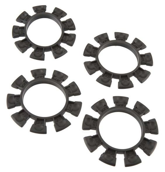 JConcepts 22122 Satellite Tire Gluing Rubber Bands Black (4)