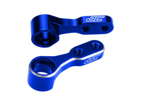 JConcepts 22591 Aluminum Steering Bell Cranks Blue : Kyosho Rb6 / Rt6