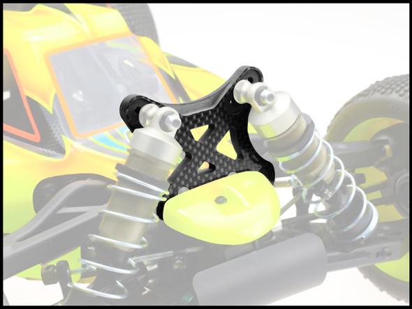JConcepts 2273 5.0mm Carbon Fiber Front Shock Tower : Mugen MBX-7