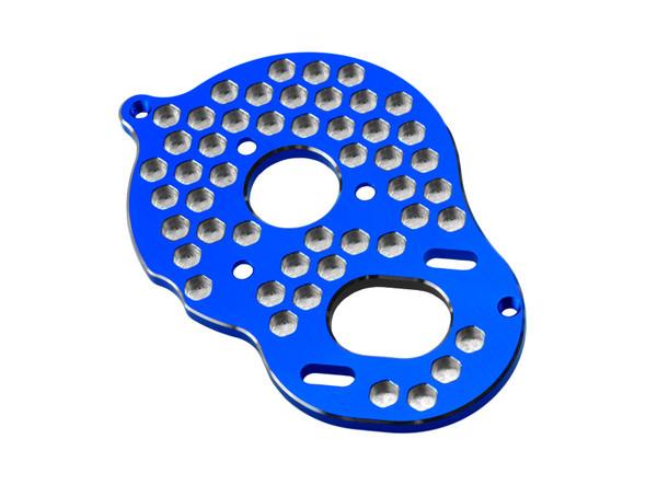 JConcepts 23531 Aluminum Motor Mount Honeycomb Blue: RC10B5 / B5M