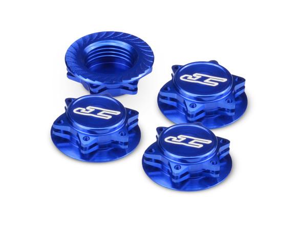 JConcepts 24511 Fin 1/8th Serrated Light Weight Wheel Nut