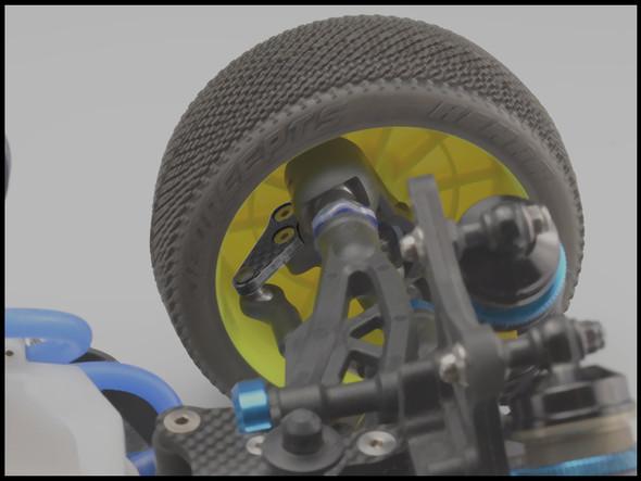 JConcepts 2503 Carbon Fiber L/R Steering Arms : RC8B3 / RC8B3e
