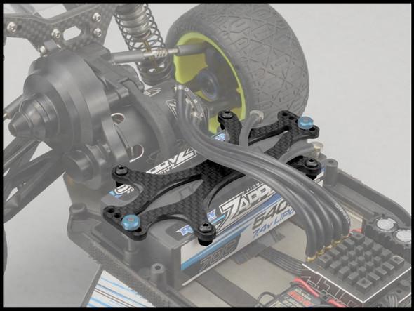 JConcepts 2562 Carbon Fiber Battery Brace : B6 / B6D