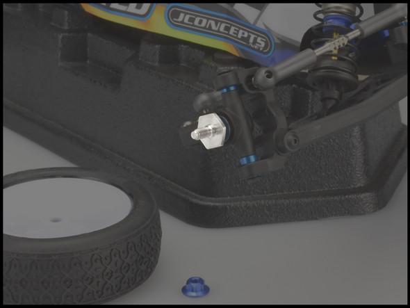 JConcepts 2566T Titanium Front Axle Set : B6 / B6D